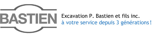Excavation P. Bastien et fils inc.